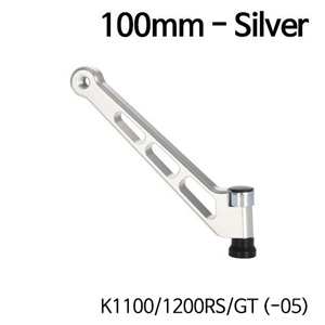 분덜리히 K1100 K1200RS GT (-05) MFW mirror stem - 100mm - silver