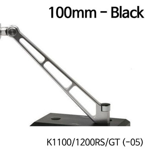 분덜리히 K1100 K1200RS GT (-05) MFW Naked Bike mirror stem - 100mm - black