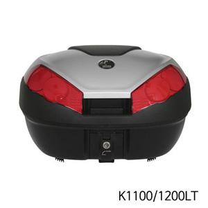 분덜리히 K1100 K1200LT Hepco & Becker Journey Topcase 52 litres volume - black-silver