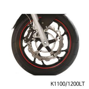 분덜리히 K1100 K1200LT Wheel rim stickers - red