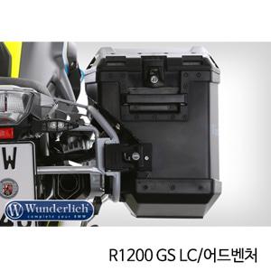 분덜리히 R1200GS LC R1200GS어드벤처 Hepco Cutout luggage system R1200GS + Adv LC 블랙