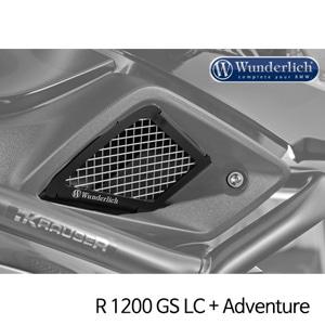 분덜리히 R1200GS LC/어드벤처 Air intake grill - Set 블랙