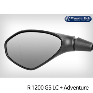 분덜리히 R1200GS LC/어드벤처 Mirror glass expansion ?SAFER-VIEW - left 크롬
