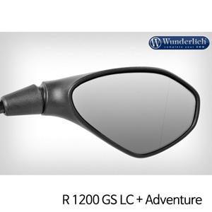 분덜리히 R1200GS LC/어드벤처 Mirror glass expansion ?SAFER-VIEW - right 크롬