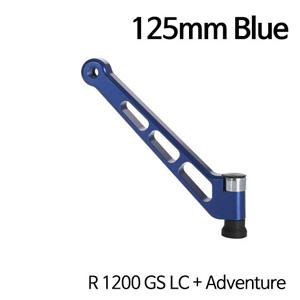 분덜리히 R1200GS LC/어드벤처 MFW aluminium mirror stem - 125mm 블루