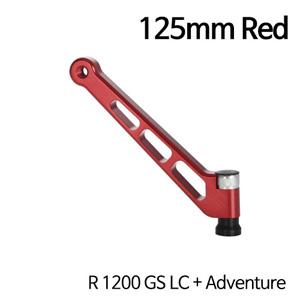 분덜리히 R1200GS LC/어드벤처 MFW aluminium mirror stem - 125mm 레드