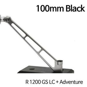 분덜리히 R1200GS LC/어드벤처 MFW Naked Bike mirror stem - 100mm 블랙