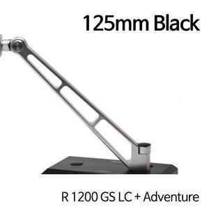 분덜리히 R1200GS LC/어드벤처 MFW Naked Bike mirror stem - 125mm 블랙
