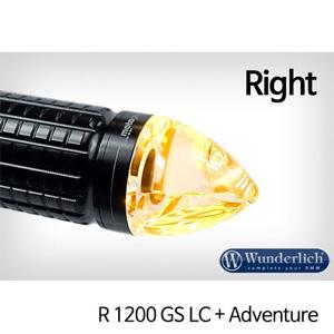 분덜리히 R1200GS LC/어드벤처 Motogadget m-Blaze cone indicator - right 블랙