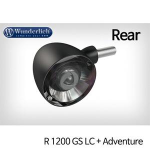 분덜리히 R1200GS LC/어드벤처 Kellerman Bullet 1000 (piece) - rear 블랙