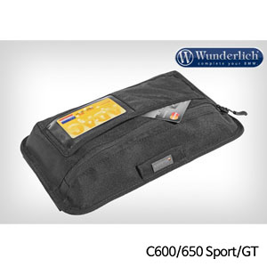 분덜리히 BMW C600 C650 Sport GT Case Lid Pocket 블랙색상
