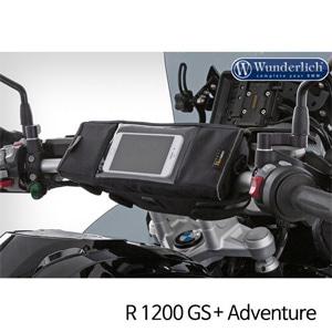 분덜리히 BMW 모토라드 R1200GS 어드벤처 핸들바 백 BARBAG MEDIA - XL 블랙