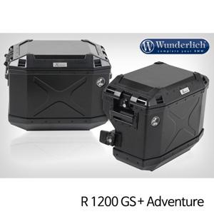 분덜리히 R1200GS 어드벤처 Cutout luggage system R1200GS 블랙