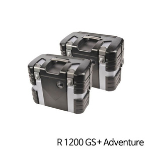 분덜리히 R1200GS 어드벤처 Hepco & Becker Case Set Black Edition 블랙&Silver Edition