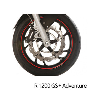 분덜리히 R1200GS/어드벤처 Wheel rim stickers - red