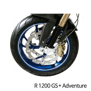 분덜리히 R1200GS/어드벤처 Wheel rim stickers - white