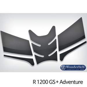분덜리히 R1200GS/어드벤처 Tank pad set 3D carbon-look - carbon optic