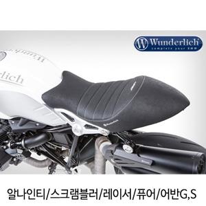 분덜리히 알나인티 스크램블러 레이서 퓨어 어반G,S One-piece Faux Leather Seat - black