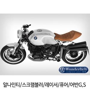 분덜리히 알나인티 스크램블러 레이서 퓨어 어반G,S One-Piece Real Leather Seat - brown