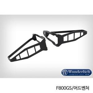 분덜리히 F800GS 어드벤처 indicator protection long 셋트 블랙색상