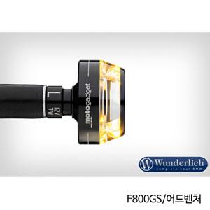 """분덜리히 F800GS 어드벤처 Motogadget """"m-Blaze Disc"""" indicator 좌측용 블랙색상"""