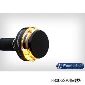 """분덜리히 F800GS 어드벤처 Motogadget """"m-Blaze Disc"""" indicator 우측용 블랙색상"""