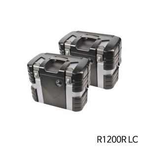 분덜리히 R1200R LC Hepco & Becker Case Set Black Edition 블랙&Silver Edition
