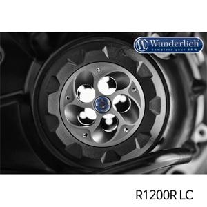 분덜리히 R1200R LC Hub cover TORNADO - titanium