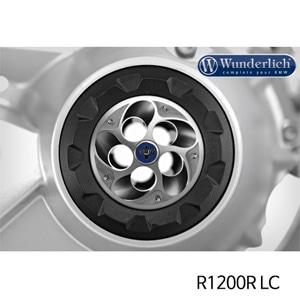 분덜리히 R1200R LC Hub cover TORNADO - silver