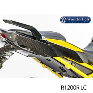 분덜리히 R1200R LC Side cover on seat R 1200 R / RS LC - right - carbon