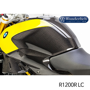 분덜리히 R1200R LC Tank side panel R 1200 R LC - left - carbon