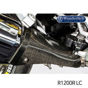 분덜리히 R1200R LC Exhaust heat guard R 1200 R / RS LC - carbon