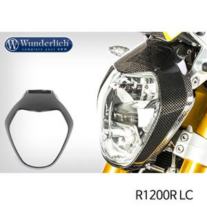 분덜리히 R1200R LC Headlight fairing R 1200 R LC - carbon