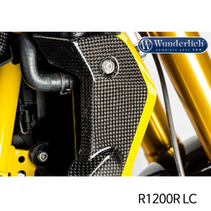 분덜리히 R1200R LC Water cooler cover R 1200 R LC - right 카본