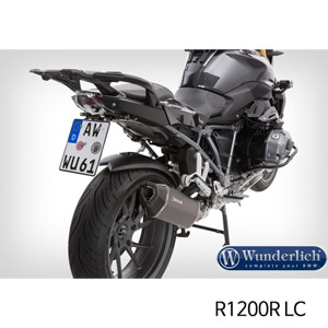 "분덜리히 R1200R LC ""SPORT"" tail section licence plate holder R 1200 R / RS LC 블랙"