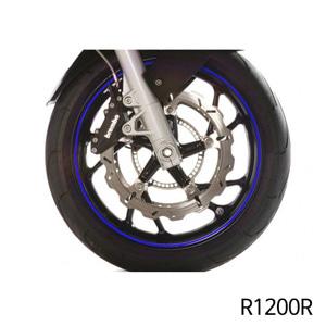 분덜리히 R1200R Wheel rim stickers - blue
