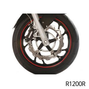 분덜리히 R1200R Wheel rim stickers - red