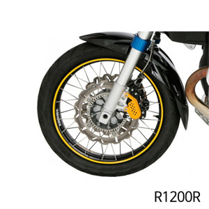 분덜리히 R1200R Wheel rim stickers - yellow