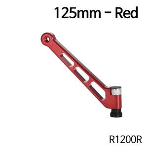 분덜리히 R1200R MFW aluminium mirror stem - 125mm - red