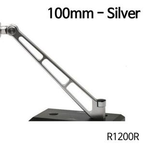 분덜리히 R1200R MFW Naked Bike mirror stem - 100mm - silver