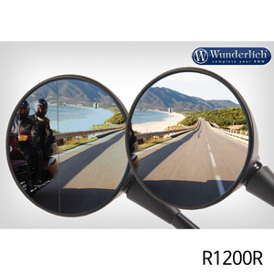 분덜리히 R1200R Mirror glass expansion SAFER-VIEWa for both sides - chromed