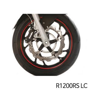 분덜리히 R1200RS LC Wheel rim stickers - red