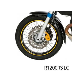 분덜리히 R1200RS LC Wheel rim stickers - yellow