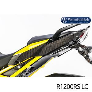 분덜리히 R1200RS LC Side cover on seat R 1200 R / RS LC - left - carbon