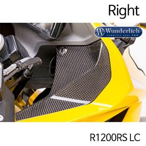 분덜리히 R1200RS LC Cover next to cockpit R 1200 RS LC - right - carbon
