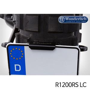 분덜리히 R1200RS LC Indicator set for licence plate holder Sport R 1200 R LC 블랙