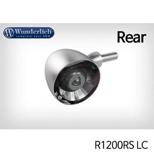 분덜리히 R1200RS LC Kellerman Bullet 1000 (piece) - rear - matt chrome