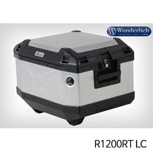 분덜리히 R1200RT LC Hepco & Becker Xplorer Topcase aluminium 45 litres 실버
