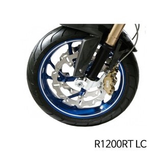 분덜리히 R1200RT LC Wheel rim stickers - white
