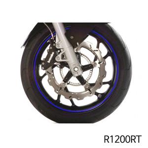 분덜리히 R1200RT Wheel rim stickers - blue